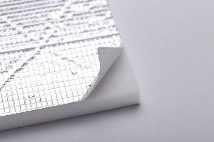 Aluminum Foil Melamine Foam 2