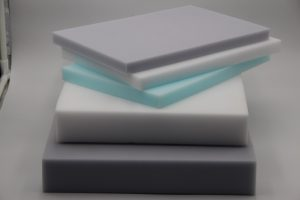 melamine foam grey blue