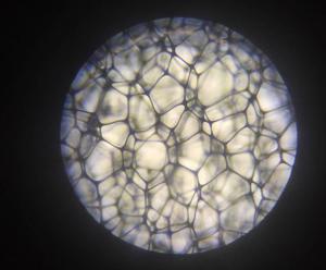 melamine foam structurer