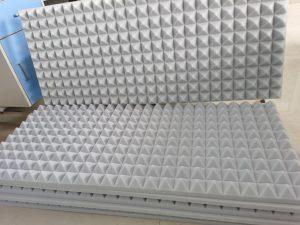 pyramid melamine foam
